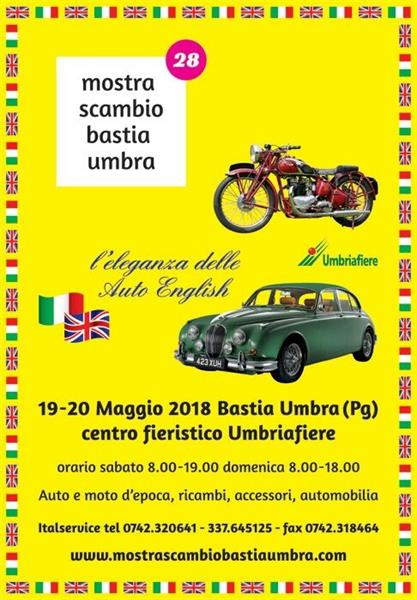 MOSTRA SCAMBIO BASTIA UMBRIA 19-20 MAGGIO 2018